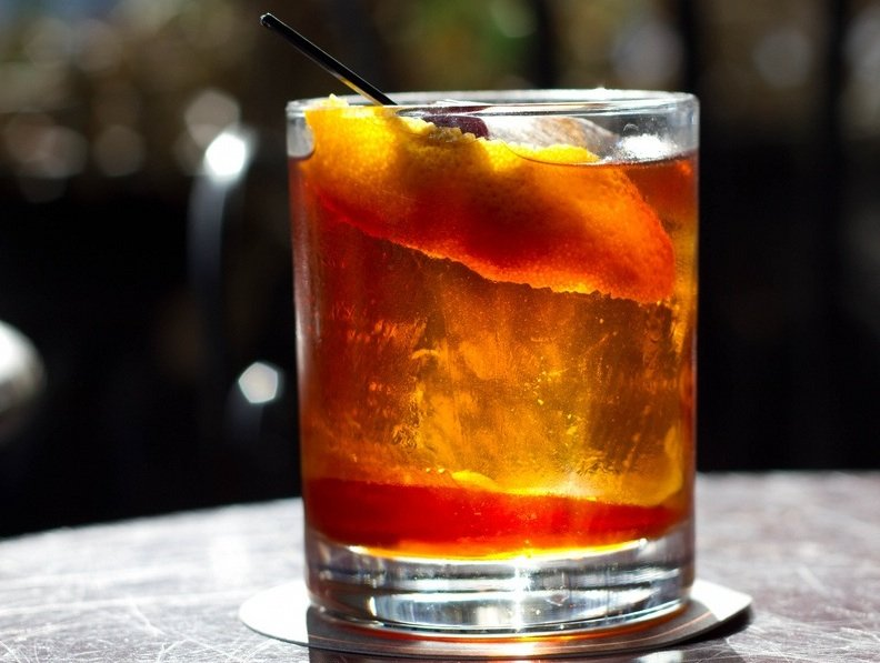 Cocktail Spotlight - Cognac Old-Fashioned Cocktail The Proper Way for ...