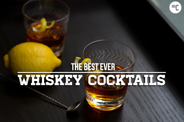 Seasonal spotlight top 9 whiskey cocktails for the for Good whiskey drinks for summer